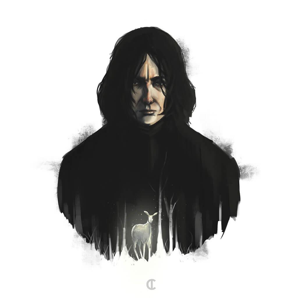 Harry Potter Fan Art by Mili Fay