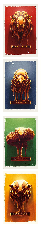 Harry Potter Fan Art by Nicolas Alejandro Barbera