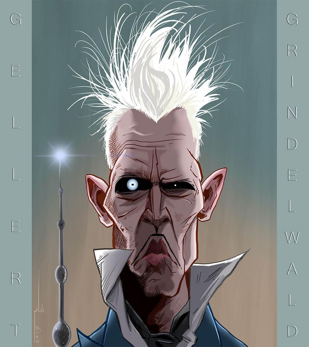 Harry Potter Fan Art by Sam Salmassi