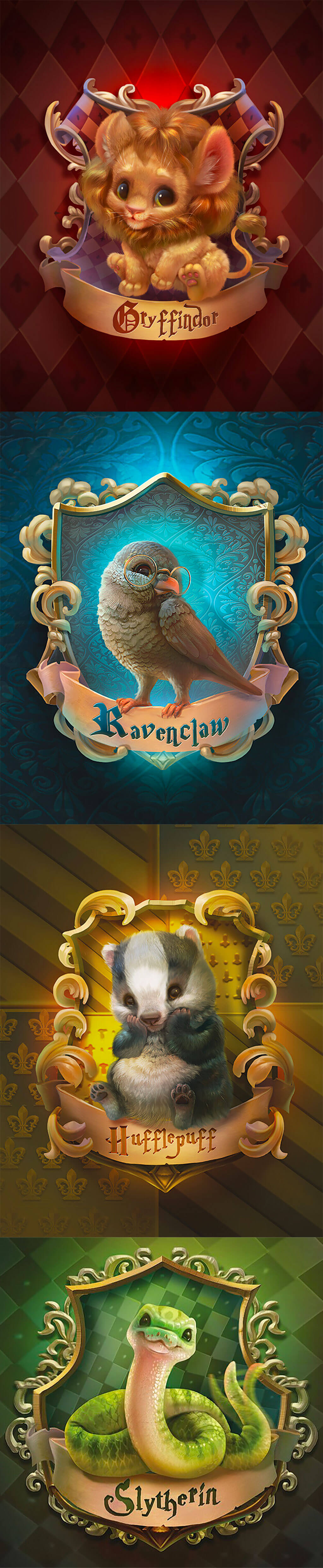 Harry Potter Fan Art by Yulia Sivtsova