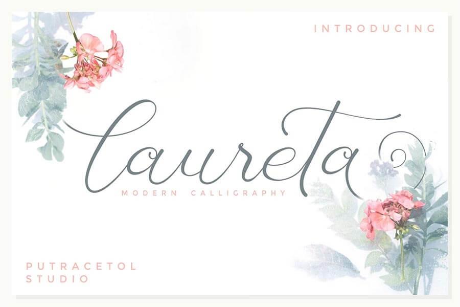 Laureta — Modern Calligraphy