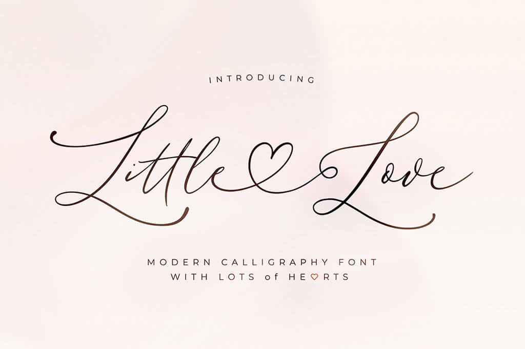 Little Love – Modern Calligraphy Font