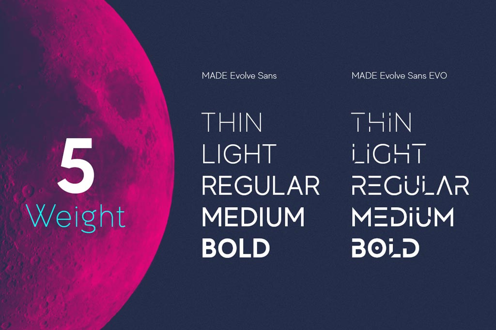 MADE Evolve Free Font Family