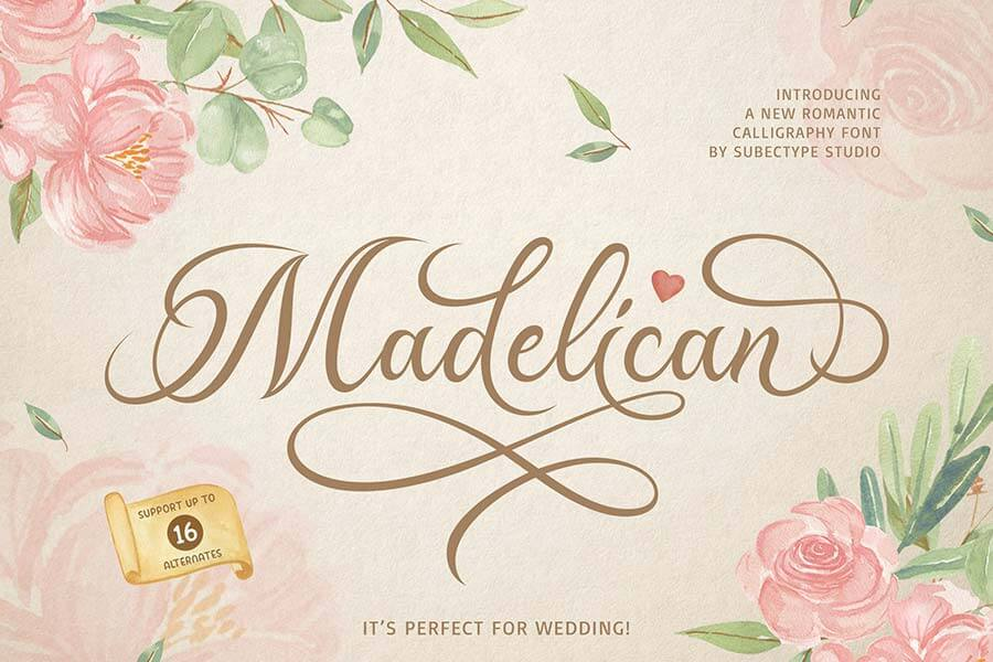 Madelican Calligraphy