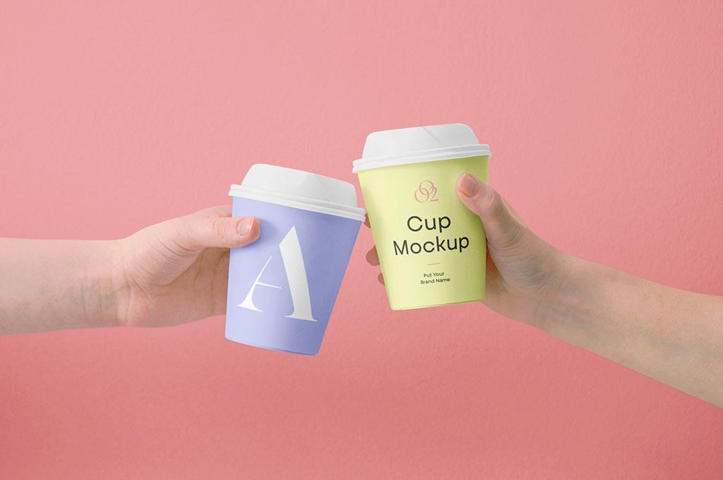 Mini Coffee Cup Mockups