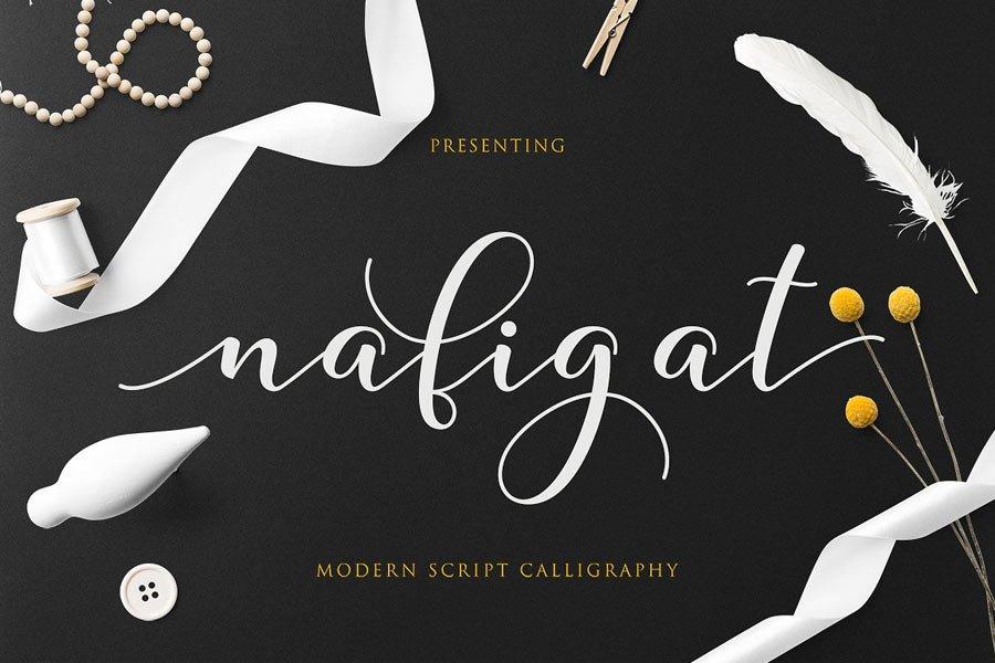 Nafigat Script Font