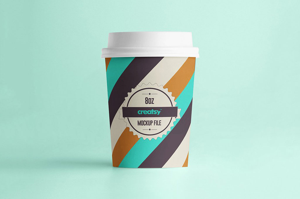 Paper Cups Mockup Set