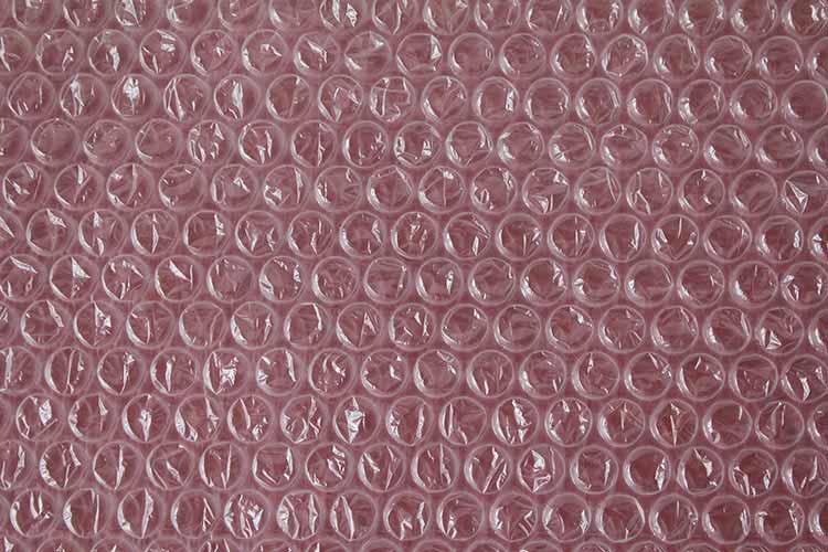 Plastic Bubble Wrap Texture