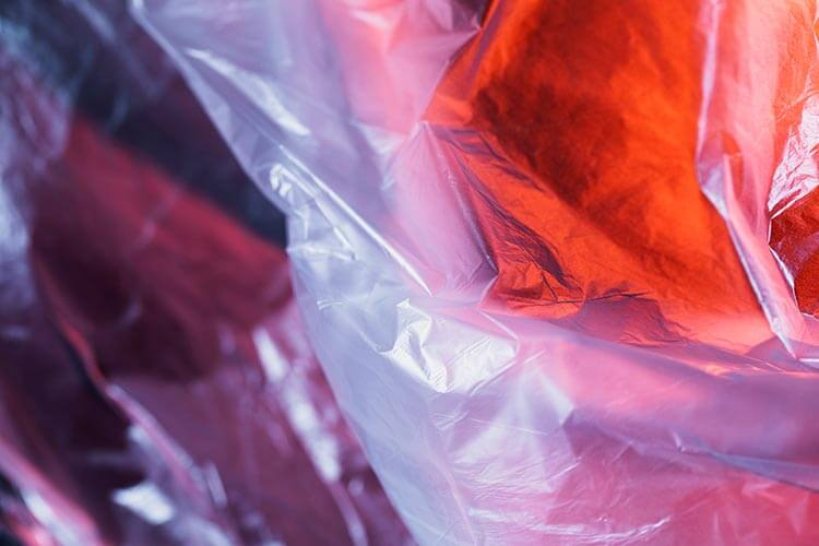 Plastic Texture Close-up