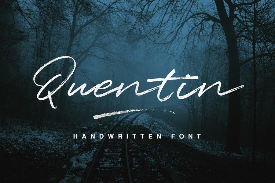 Quentin Script Free Typeface