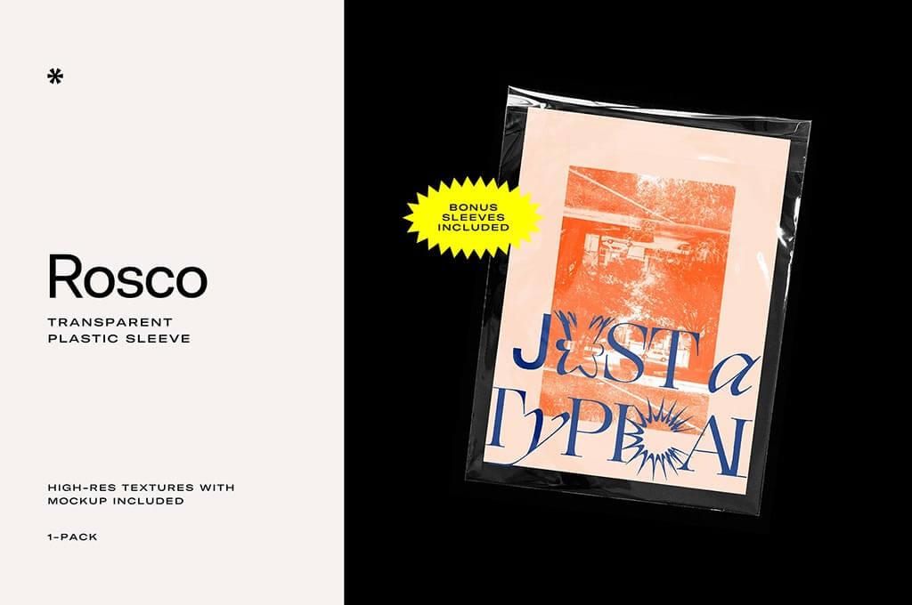 ROSCO – Transparent Plastic Texture