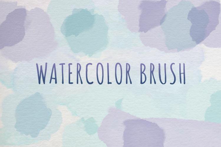 Realistic Watercolor Brush Tool Preset