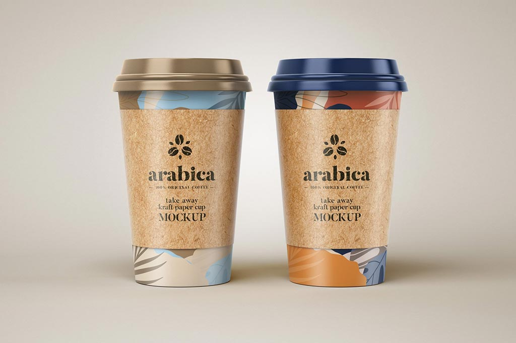 Take Away Paper Coffee Cup Mockups