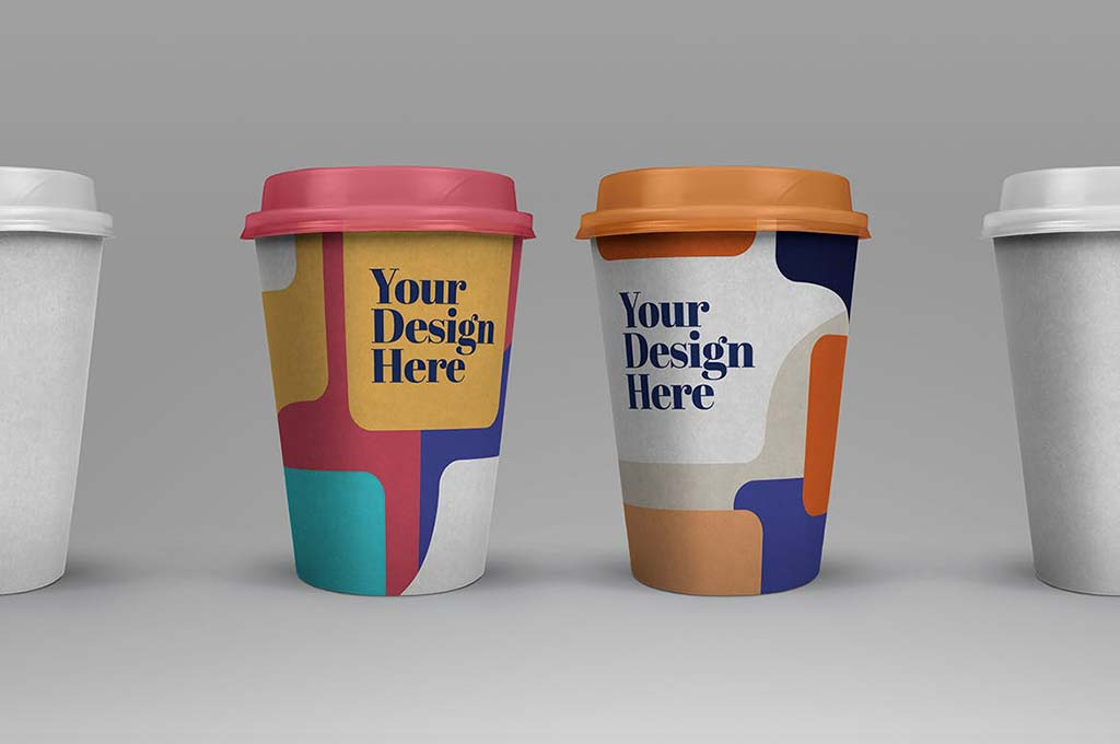 Take Out Cup Coffee Mockup