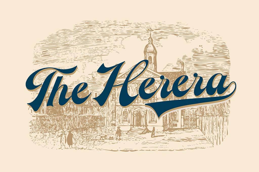 The Herera Script Typeface