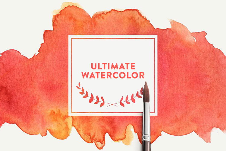Ultimate Watercolor Brush Textures