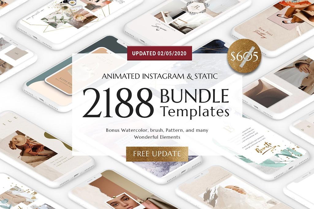 Bundle Animated Social Media Templates