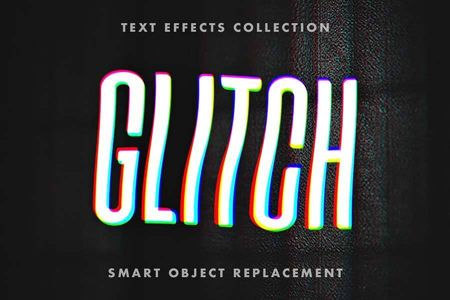 Crashed Glitch Text Effects