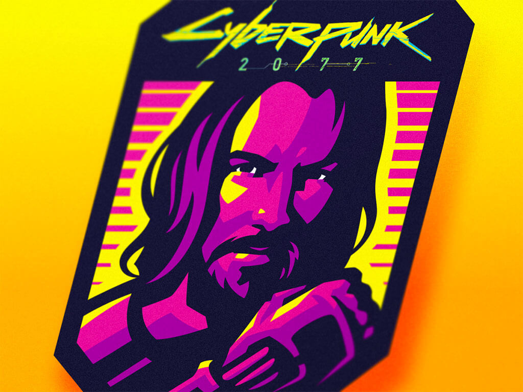 Cyberpunk 2077 Fan Art by Dlanid