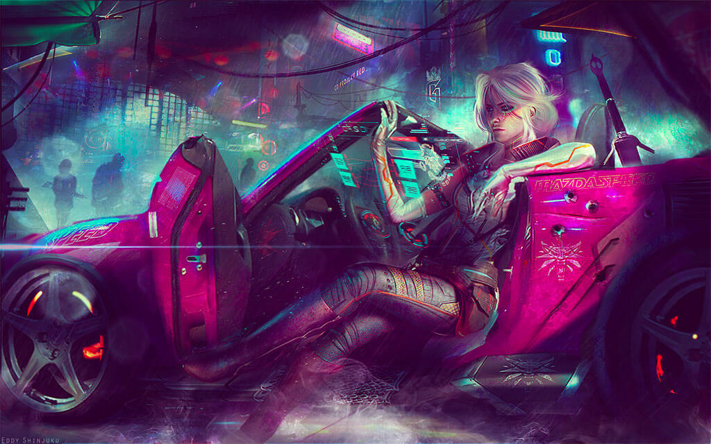Cyberpunk 2077 Fan Art by Eddy Shinjuku