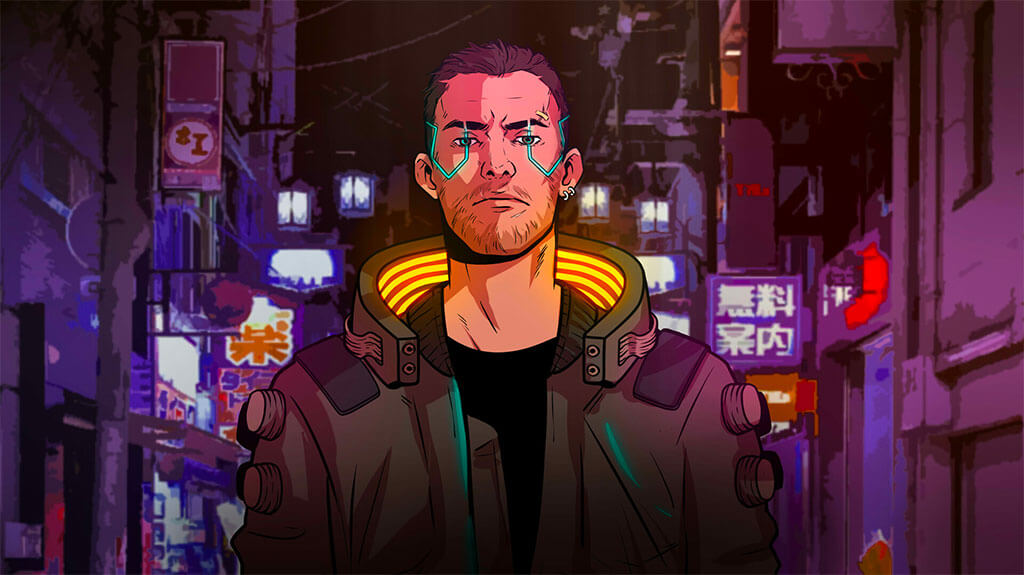 Cyberpunk 2077 Fan Art by Gino 77