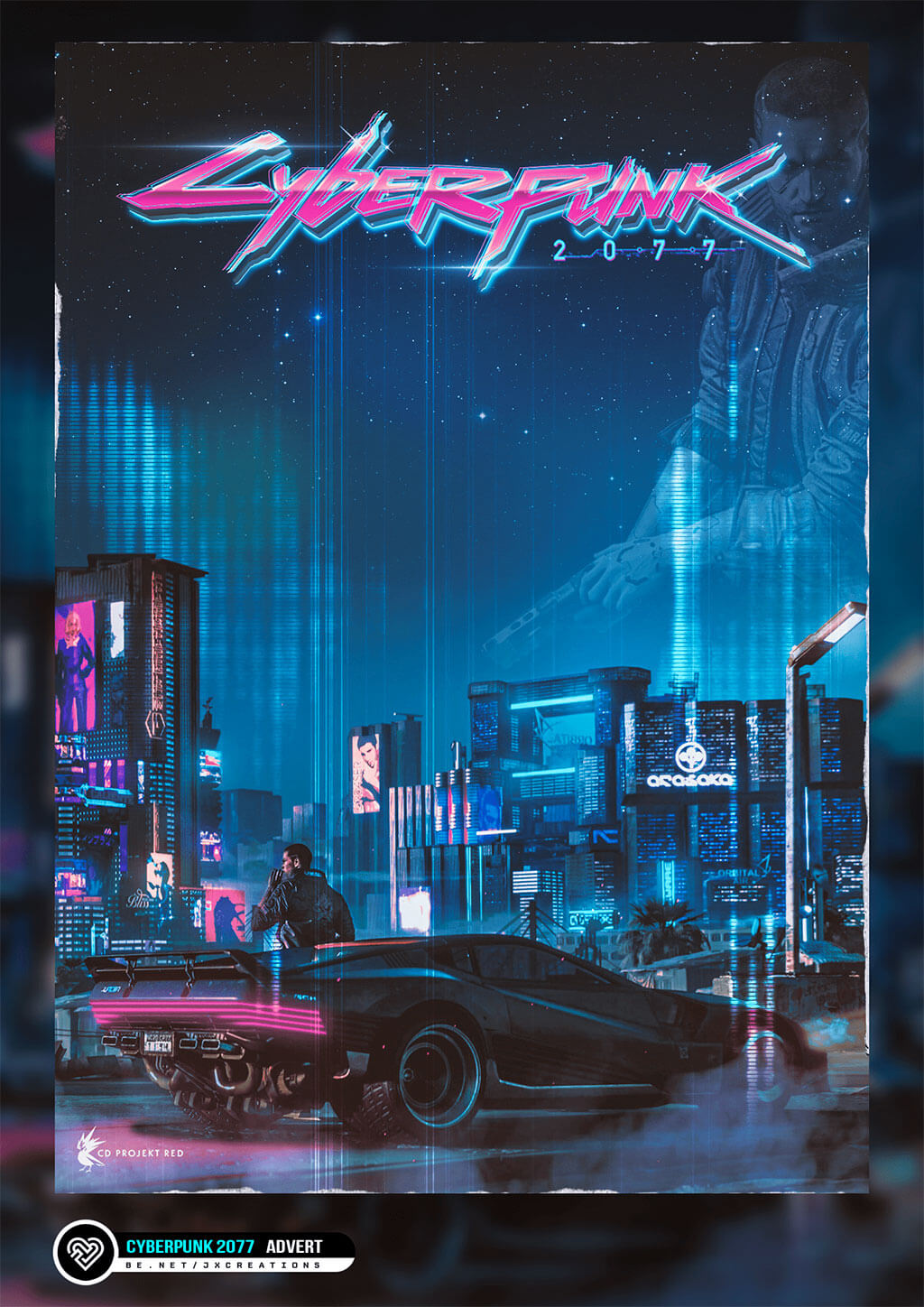 Cyberpunk 2077 Fan Art by Jasmine Ford