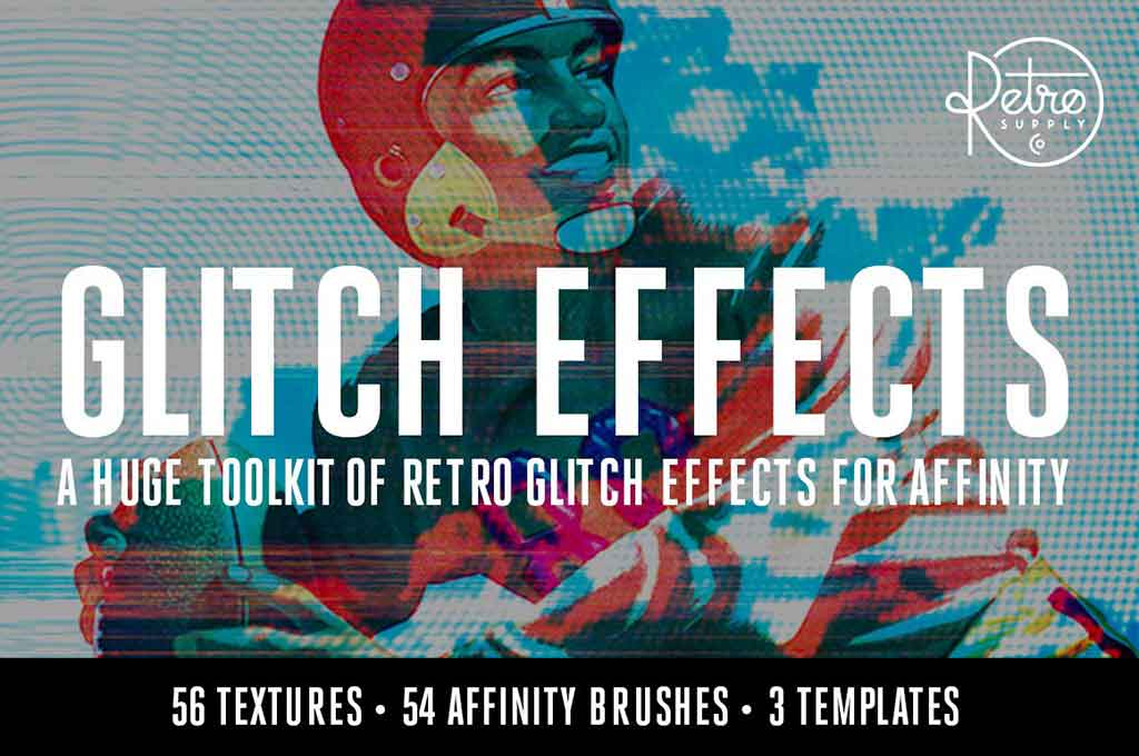 Glitch Effects Bundle for Affinity