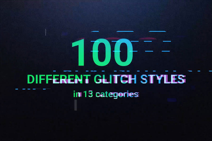 Glitch Pro — Essential Glitch Effects Pack