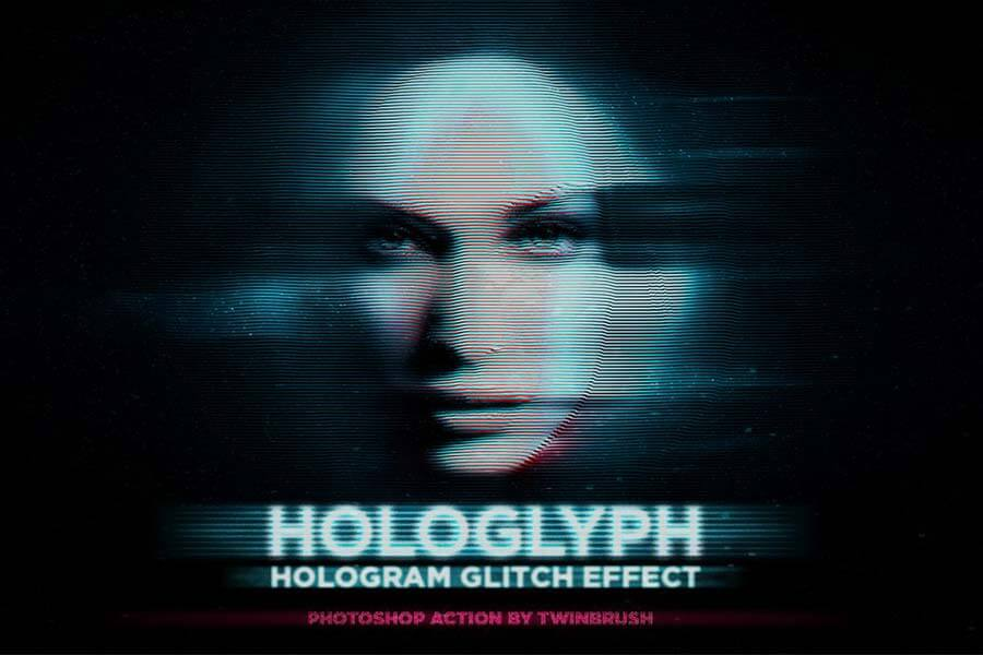 Hologlyph — Hologram Effect