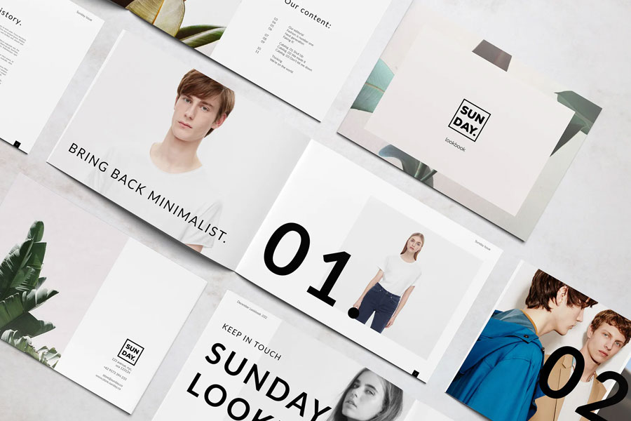 Lookbook templates