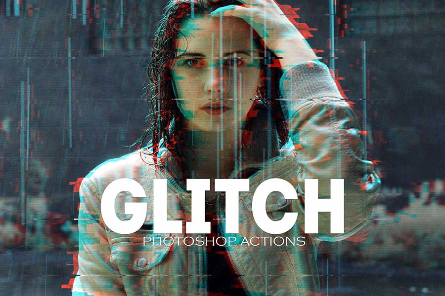 Photoshop Glitch Effect