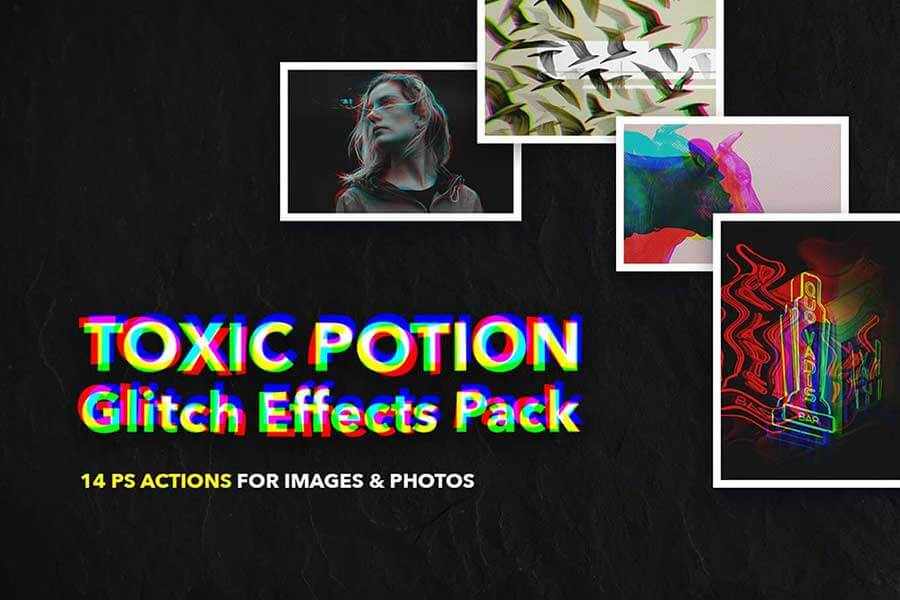 Toxic Potion Glitch Actions