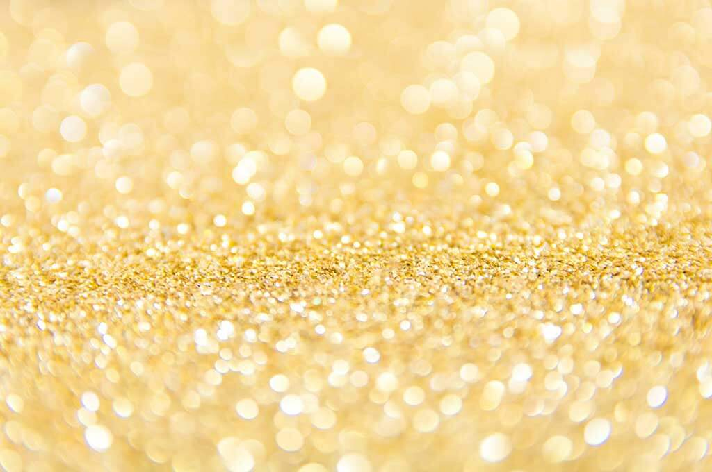 Blur Bokeh Gold Glitter