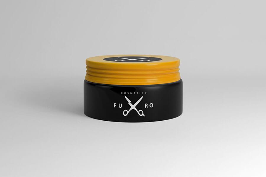 Cosmetic Jar — Free Mockup