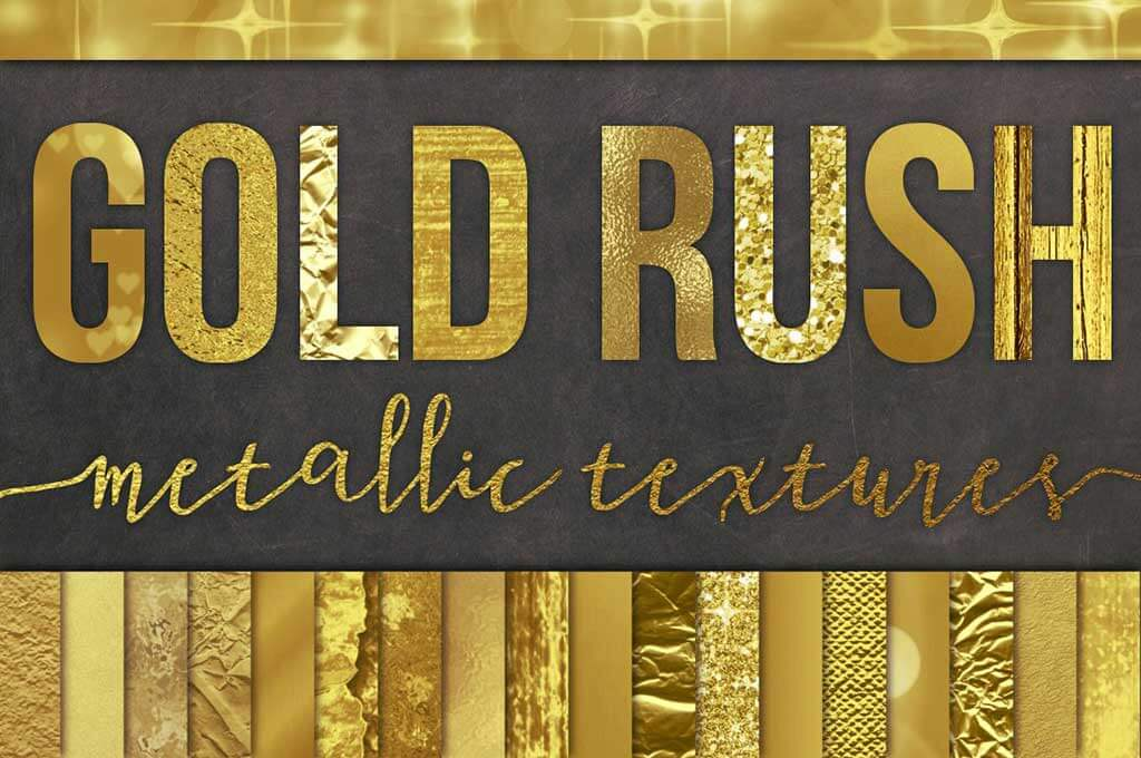 Gold Foil Texture Backgrounds