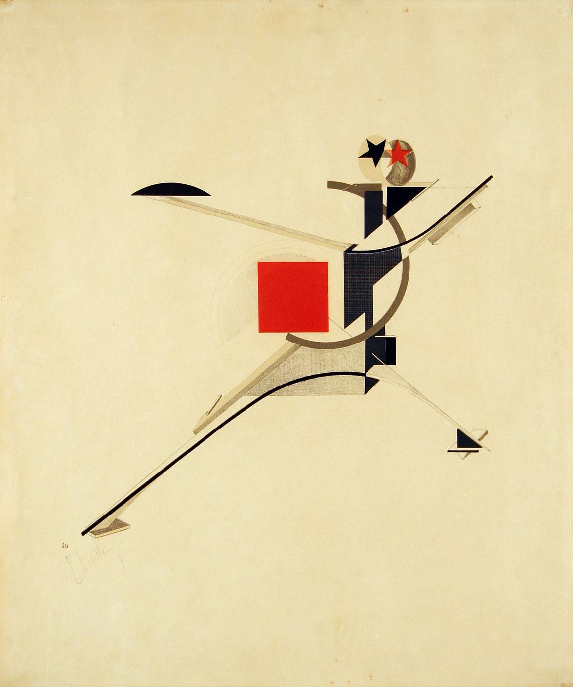 New Man, El Lissitzky 1923