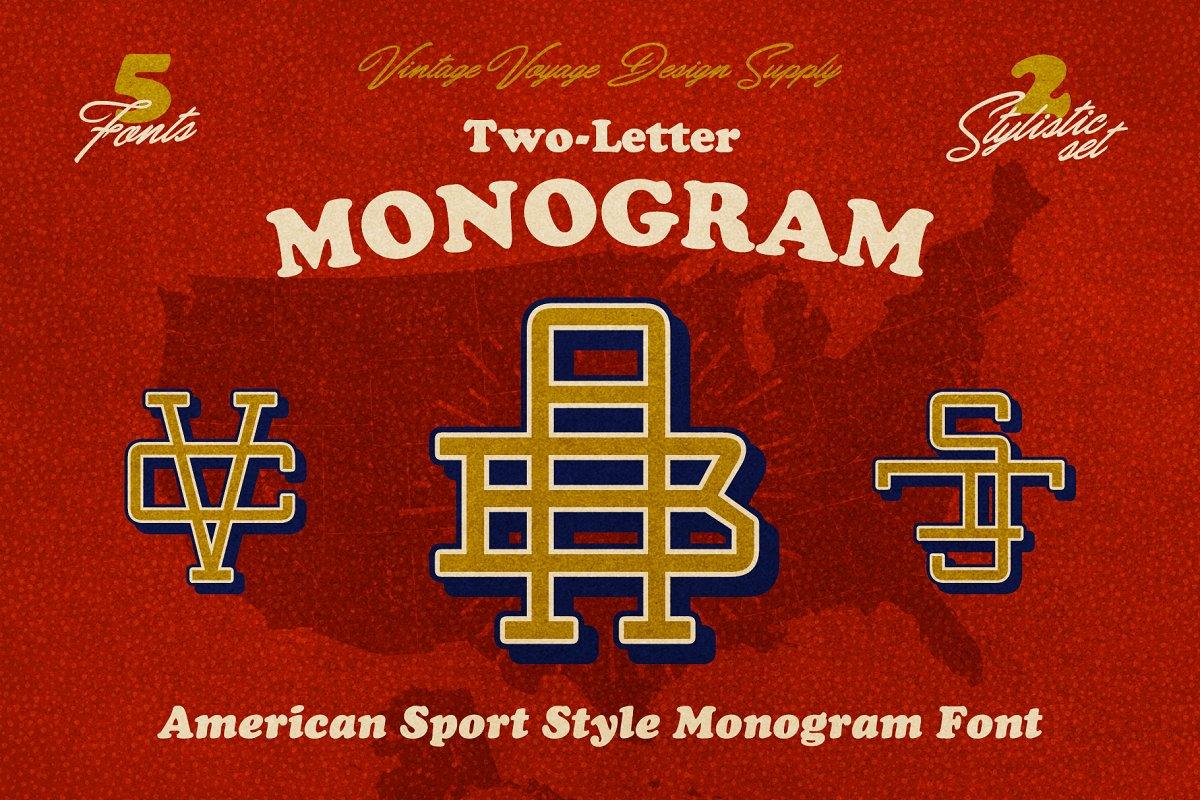 Two-Letter Monogram Maker