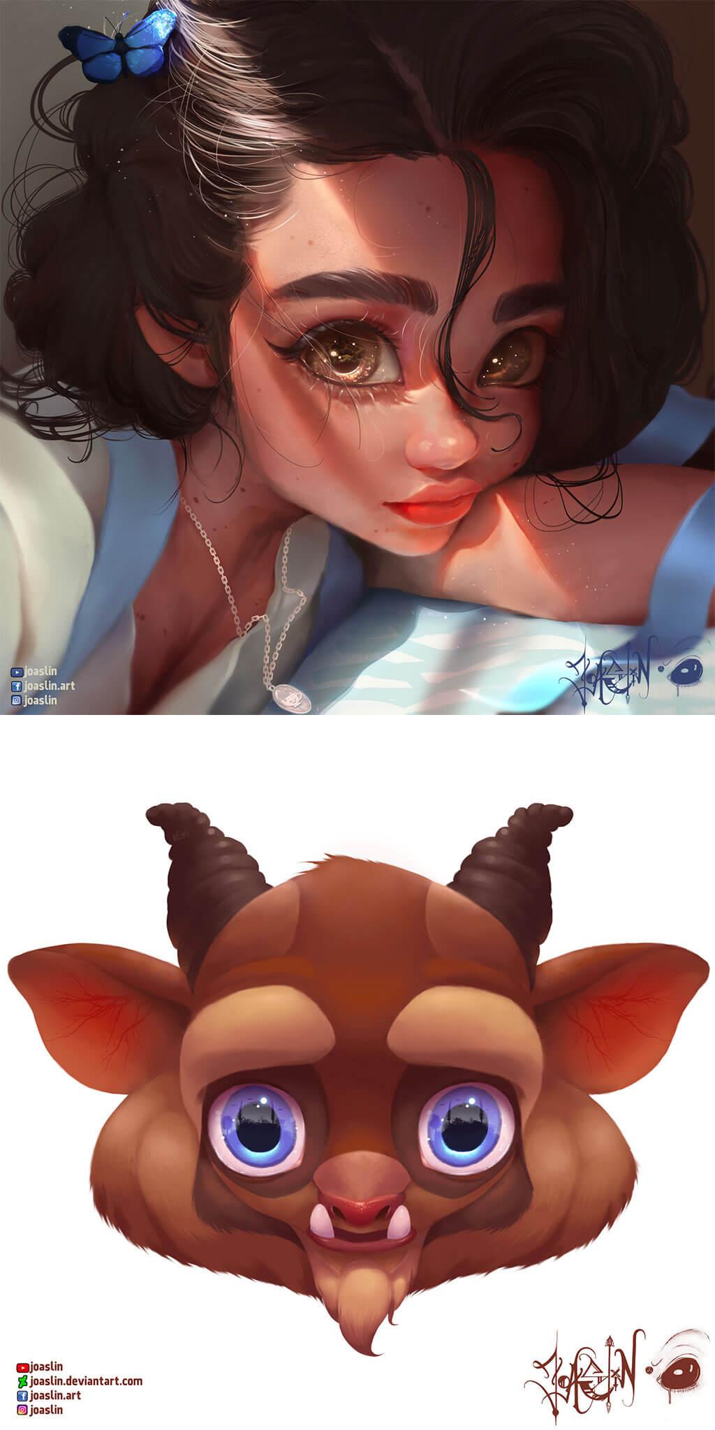 Beauty and the Beast Fan Art by JoAsLiN