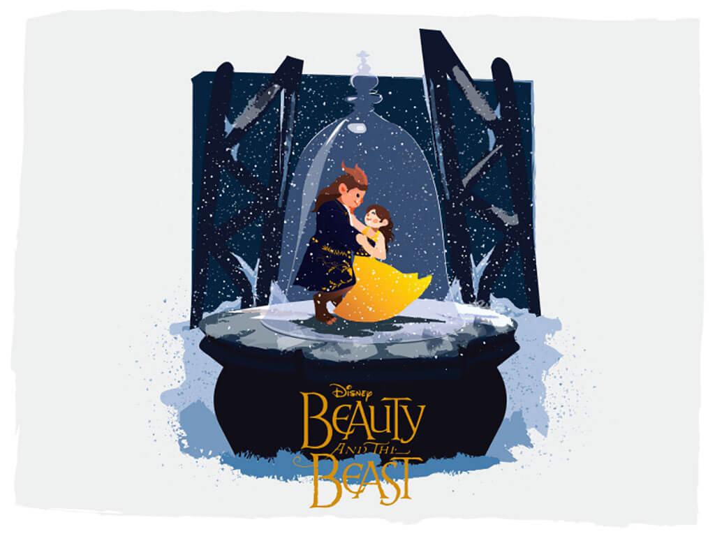Beauty and the Beast Fan Art by ProCreator