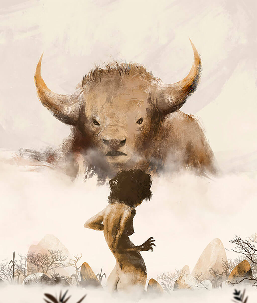 Beauty and the Beast Fan Art by Wajid Karim