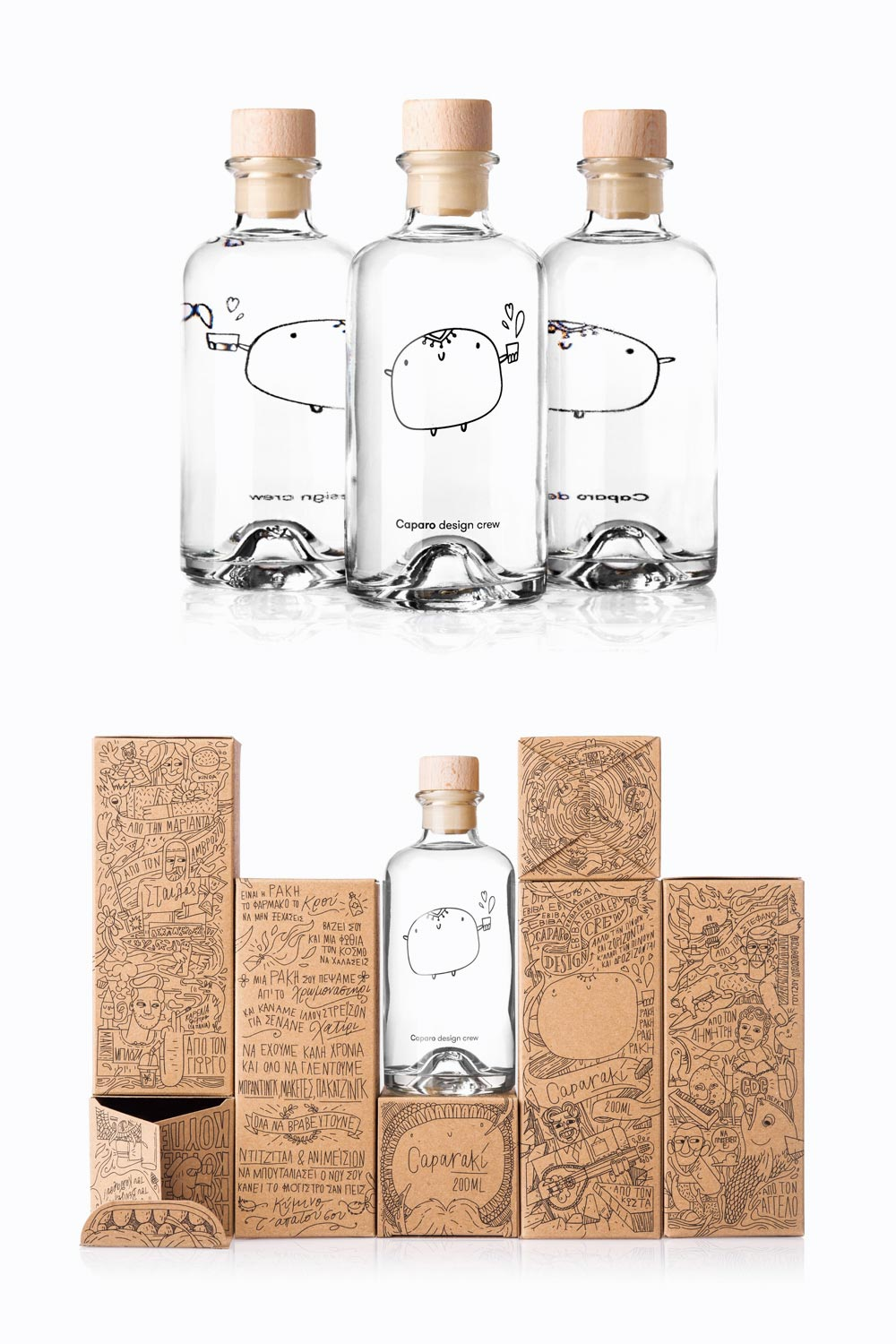 Caparaki Bottle Design