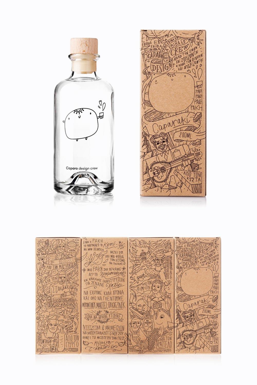 Caparaki Bottle Design