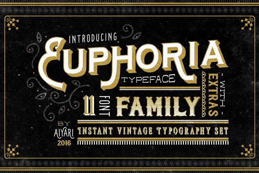 Euphoria Font Family