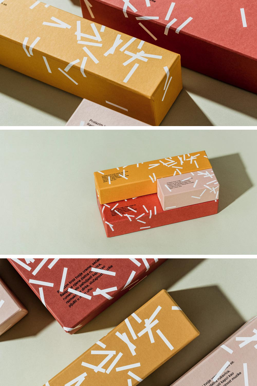 Fini confetti package design