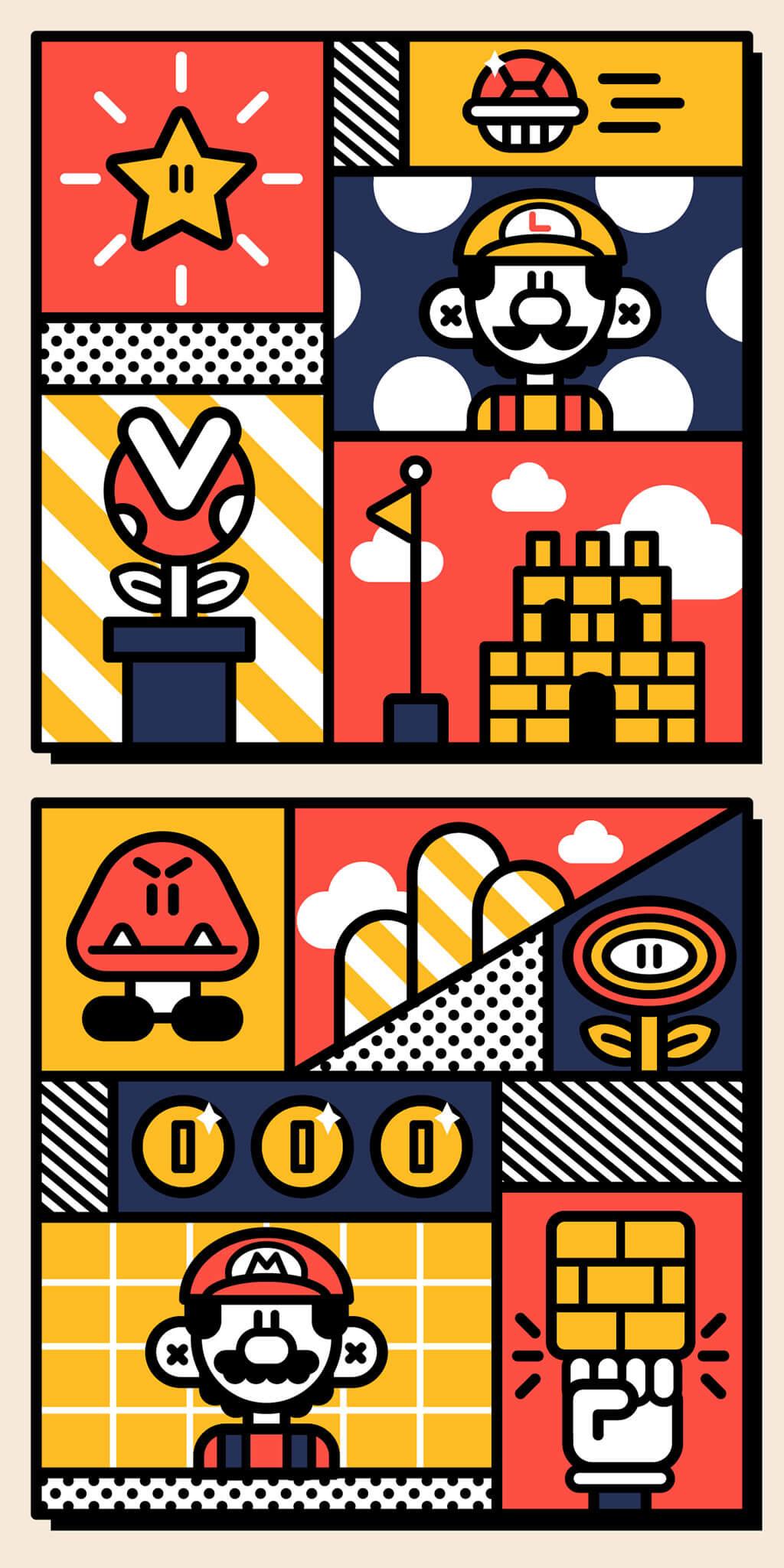 Mario Fan Art by ANDREW RICHARDS