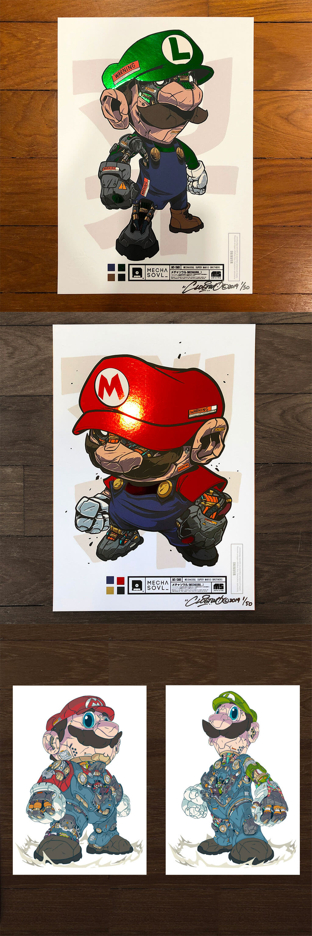 Mario Fan Art by CLOG TWO