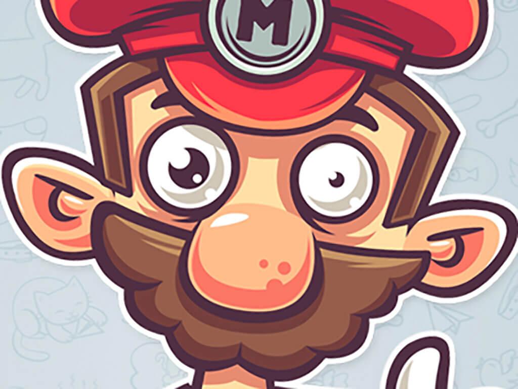 Mario Fan Art by Evgeny Polukhin