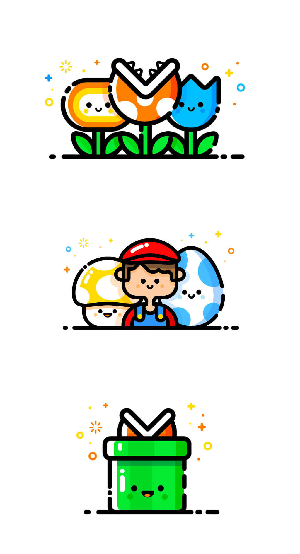 Mario Fan Art by MBE