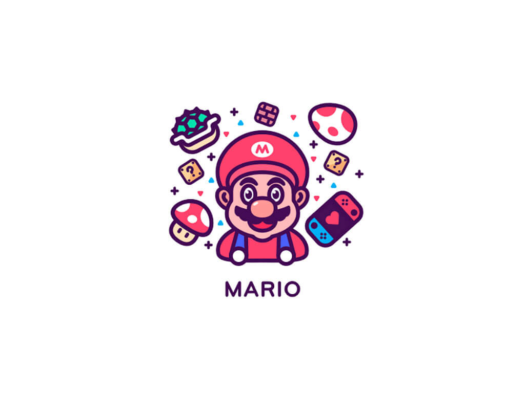 Mario Fan Art by MiroCat