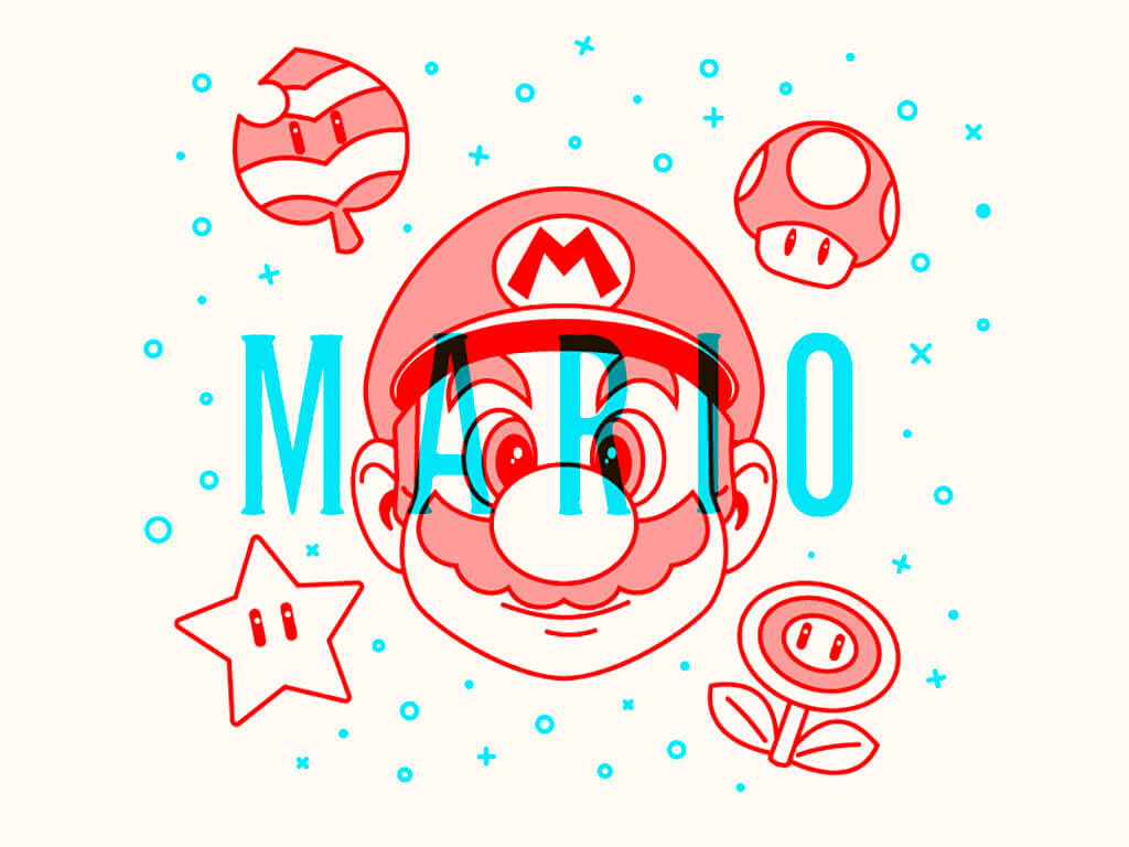 Mario Fan Art by Nick Brito
